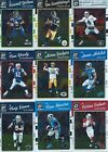 2016 Donruss Optic Base Football cards - Complete Your Set !!