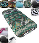 For Htc One Remix/mini Ii 2 Graphic Design Two Piece Snap-on Case Cover+stylus