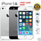 Original Apple iPhone 5S 4G LTE GSM 100% Factory Unlocked Gray/Silver/Gold HOT,