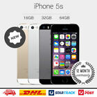 Original Apple iPhone 5S 4G LTE GSM 100% Factory Unlocked Gray/Silver/Gold HOT.