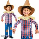 Boys Girls Childs New Scarecrow Wizard of Oz Book Day Fancy Dress Costume Outfit