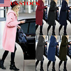 Fashion Women's Casual Hooded Hoodies Long Draw String Coat