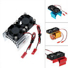 Motor Heat Sink Radiator With Dual Cooling Fan for 1/10 540/3650 RC Car Motor 1X