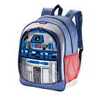 """AMERICAN TOURISTER STAR WARS R2-D2 16"""" Multi-Pocket School Backpack NWT  $40"""