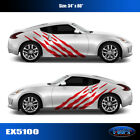 5100 Shred Body Vinyl Sticker Graphics Decals CAR TRUCK High Quality EgraF-X