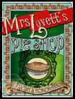 MRS LOVETT'S SWEENEY TODD PIE SHOP: VICTORIAN POSTER METAL SIGN 3 TO CHOOSE FROM