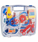 Childrens Kids Role Play Doctor Nurses Toy Set Medical Kit In Blue or Pink