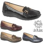 Ladies Womens Faux Leather Deck Casual Walking Moccasins Loafers Driving Shoes