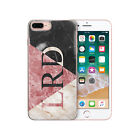 HAIRYWORM PERSONALISED INITIALS NAME PRINTED PLASTIC PHONE CASE, COVER FOR APPLE