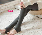 Women Winter Warm Slim Fit Stretch Leggings Fleeced Thicken Stocking Pants Socks