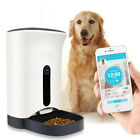 Automatic Pet Feeder for Cat Dog iOS Android App Wifi Cam Timer Food Dispenser