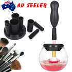 Pro Electric Makeup Brush Cleaner & Dryer Set Includes Brush Collar Stand OZ