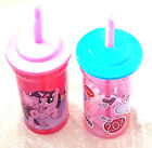 Girls My Little Pony Drinking Cup With Straw 3 Yrs + New