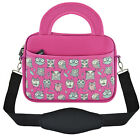 "Owl Slim 10"" Inch Sleeve Carry Case Cover Bag Handle for 10"" - 10.1"" Inch Tablet"