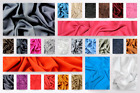 Plain Viscose Dress Fabric (C5666-M)