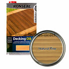 Ronseal Decking Oil - 2.5L & 5L - 4 Different Colours - FREE DELIVERY