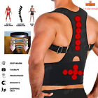Magnetic Posture Back Corrector Lumbar Shoulder Support Belt Brace Protector HT