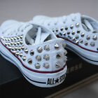 Genuine CONVERSE All star low top studed Sneakers Sheos High quality authentic