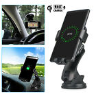 nexus 7 2nd generation dock - Fast Qi Wireless Car Charger Holder Dock Dashboard Mount for Samsung S8 S8+ S7