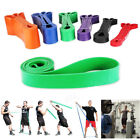 Crossfit Heavy Duty Pull Up Assist Bands Resistance Band Stretching Powerlifting