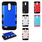 For LG Aristo 2 Tuff Trooper HYBRID TPU Protector Case Phone Cover Accessory