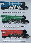 Steam Locomotive / Trains Die Cut Card Toppers - Sets of 3 in assorted Colours