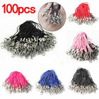 100pcs Lanyard MP3 Chain Keychains Jewelry Cell Phone Charms Accessories