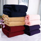 Thick Fleece Blankets  Cozy Flannel Throw Blanket for Bed Sofa/Twin Queen King image