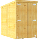 BillyOh Master Tongue & Groove Wooden Garden Storage Windowless Pent Shed