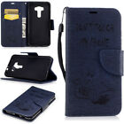 For Asus Zenfone 3 ZE520KL Slim PU Leather Stand Card Holder Wallet Case Cover