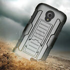 Rugged Hybrid Case Kickstand Hard Cover For ZTE Stratos LTE Allstar Z818L Z819C