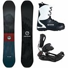BLEM Camp7 Redwood + System MTN Bindings + APX Boot Men's Snowboard Package