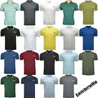 Lambretta Polo Shirt Twin Tipped Collar Mens T-Shirt Cotton Soft SS1608 UK S-4XL