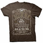 Gettin' Old Pissy And Cranky - Est. 1971 - 47th Birthday Gift T-shirt - 002-