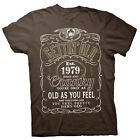 Gettin' Old Pissy And Cranky - Est. 1979 - 39th Birthday Gift T-shirt - 002