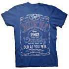 Gettin' Old Pissy And Cranky - Est. 1962 - 56th Birthday Gift T-shirt - 002