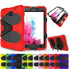 Rubber Heavy Duty Tough Armor Hard Stand Case Cover For Samsung Galaxy Tablets