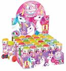 Pink Unicorn Bubble Tub Wand Puzzle Girls Kids Party Loot Bag Pinata Filler Toys
