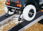6ft Folding Channel Ramps - Special Design - No Catch on Anti Tipping Wheels