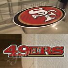 San Francisco 49ers Sticker Decal Vinyl NFL Niner Empire *3 Decal Sizes!*