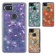 For Google Pixel 2 & XL Liquid Glitter Quicksand Hard Case Phone Cover Accessory
