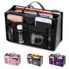 Bag Insert Organiser Handbag Women Travel Makeup Purse Wallet Pouch Organiser NI