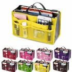 Multipurpose Women Insert Handbag Organiser Purse Large liner Bag Tidy Travel N4