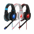 EACH G4000 Gaming Headset LED USB+ 3.5mm Stereo Headphone with Mic for PC US