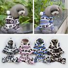New Pet Dog Puppy Warm Winter Soft Sweater Hoodie Jumpsuit Coat Clothes Outwear#