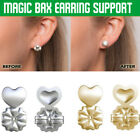 1 Pair Pure Silver Magic Bax Earring Backs Lifters Firmly Supports Lifts Fit