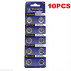 10PCS AG13/10/6 LR44 SR44 L1154 357 A76 Button Coin Cell Pack Alkaline Batteries