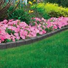 Garden Edging Lawn Border Flexible Shape Wall Path Eco Recycled Rubber Stone NEW