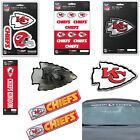 NFL Kansas City Chiefs Premium Vinyl Decal / Sticker / Emblem - Pick Your Pack on eBay