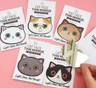 Kawaii Cat Face Pocket Makeup Hand Mirror Cute Kitty Kitten Animal Lover Gift